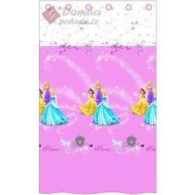 Záclona Princess Pluie D´etoiles 140x240 cm