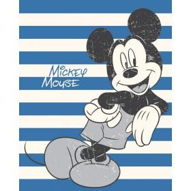 Fleece Cuddle deka Mickey Mouse FR - 120x150 cm, vyšší gramáž