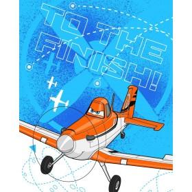 Fleecová deka Planes/Letadla 02 FR - 120x150 cm