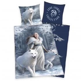 Povlečení Anne Stokes Collection - Bílí vlci, 140x200, 70x90