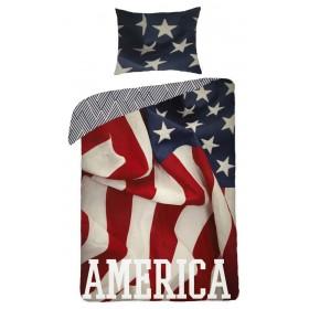 Povlečení America HX - 140x200, 70x90 - 100% bavlna