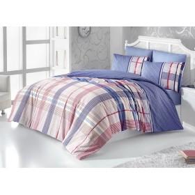 Povlečení Plaid Royal 220x200, 2ks 70x90 FRANCIE - 100% bavlna