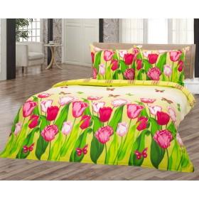 Povlečení Tulipán 140x200, 70x90 - 100% bavlna