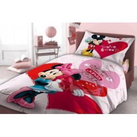 Povlečení Disney Minnie Mouse FR 001 - 140x200, 70x90, 100% bavlna