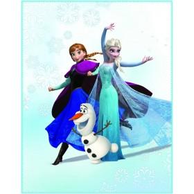 Fleecová deka Frozen Enjoy- 110x140