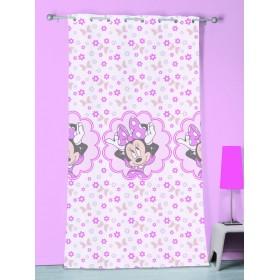 Záclona Disney Minnie Stylish Pink 140x240 cm