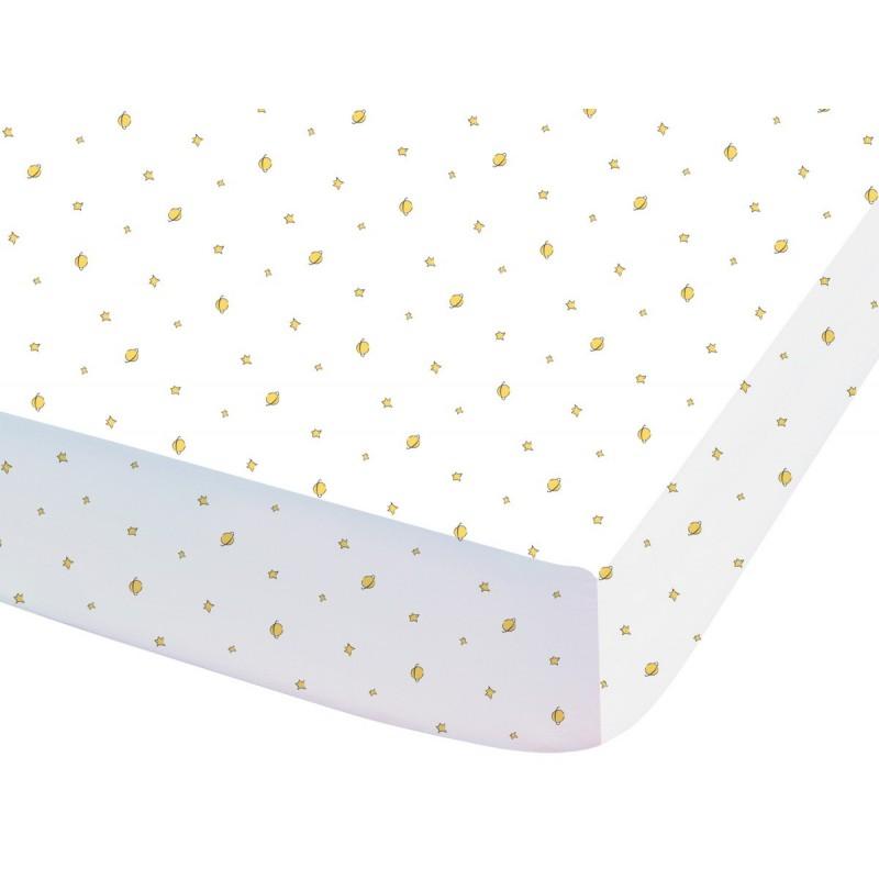 Prostěradlo Malý Princ - 90x190/200 cm, 100% bavlna