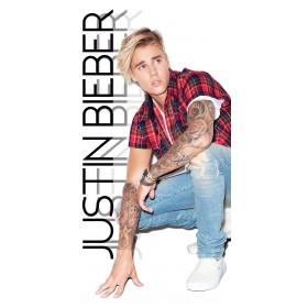 Osuška Justin Bieber  70x140 cm - 100% bavlna