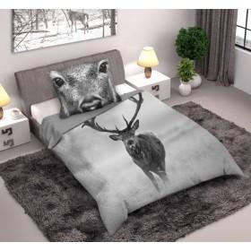 Povlečení Jelen - 140x200, 70x80, 100% bavlna
