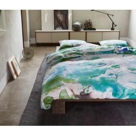 Luxusní povlečení Essenza Lewis green - 140x200, 70x90