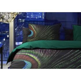 Luxusní povlečení Essenza Suha black - 140x200, 70x90