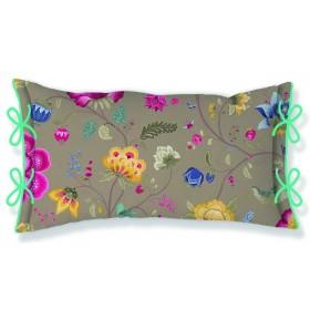 Polštář PIP Studio Floral Fantasy khaki - 35x60 cm