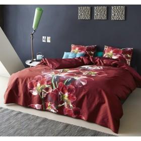 Luxusní povlečení Essenza Lucia red - 140x200, 70x90