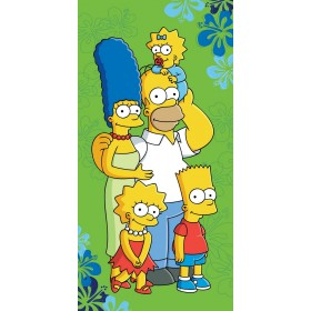 Osuška Simpsons family 2016 JF  - 75x150 cm, 100% bavlna