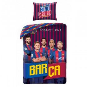 Povlečení FC Barcelona HX17 - 140x200, 70x90, 100% bavlna