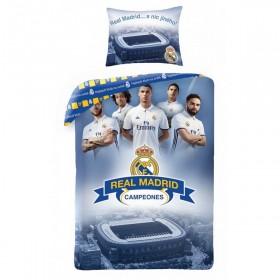 Povlečení FC Real Madrid HX16 - 140x200, 70x90, 100% bavlna