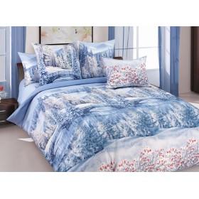 Povlečení Zima 140x200, 70x90 - 100% bavlna - perkal