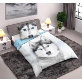 Povlečení Husky - 140x200 na velkou postel