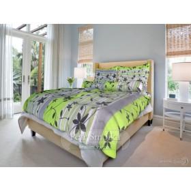 Obliečky Liana zelená - 140x200, 70x90