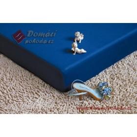 Jersey prostěradlo 220x200 - tmavě modré