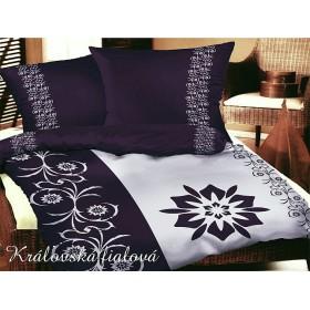 Obliečky Královská fialová 140x200, 70x90