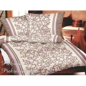 Povlečení Překrásná hnědá - 140x220, 70x90