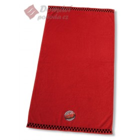 Froté ručník Cars Rallye - červený, 50x100 cm - 100% bavlna