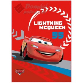 Fleecová deka Cars Fusion - 110x140cm, červená