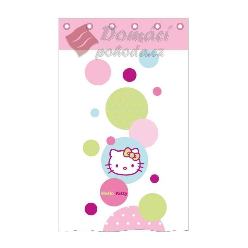 Závěs Hello Kitty Baloon 140x260 cm