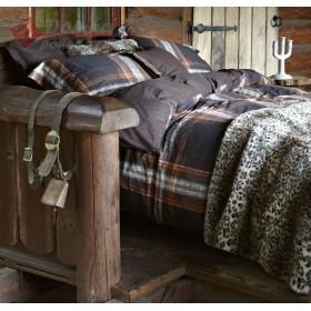 Luxusní povlečení Essenza Cenon brown - 140x200, 70x90