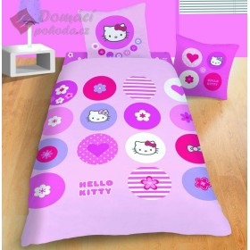 Povlečení Hello Kitty Pin´s  - 140x200, 63x63 cm