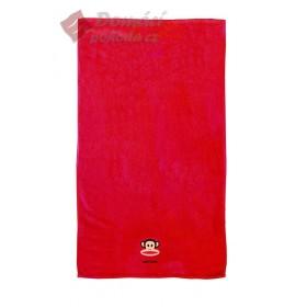 Froté osuška Paul Frank červená, 70x140cm, 100% bavlna