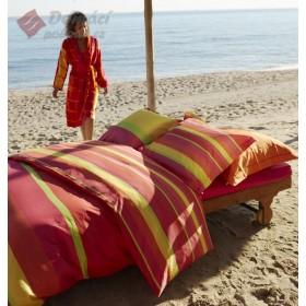 Luxusní povlečení Essenza Longo red - 140x200, 70x90