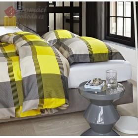 Luxusní povlečení Essenza Mac Laren yellow - 135x200, 80x80
