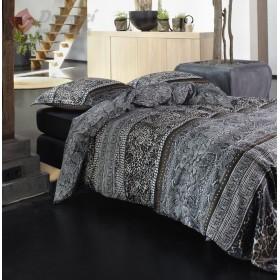 Luxusní povlečení Essenza Snaked grey - 140x200, 70x90