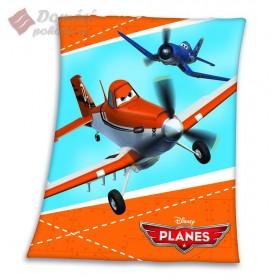 Fleecová deka Planes - 130x160 cm