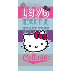 Osuška Hello Kitty Brittany 75x150 cm, 100% bavlna