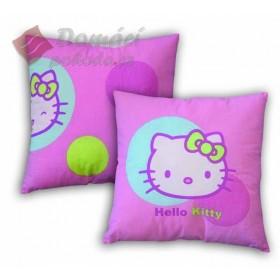 Polštářek Hello Kitty Balloon 40x40 cm - 100% bavlna