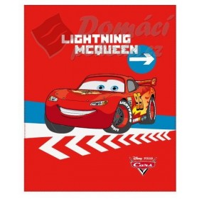 Fleecová deka Cars Peninsule - 130x160cm, červená