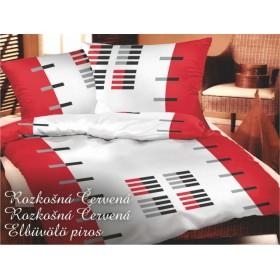 Obliečky Rozkošná červená - 140x200, 70x90
