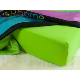 Prostěradlo jersey 190 g/m2, 160x200 - barva kiwi