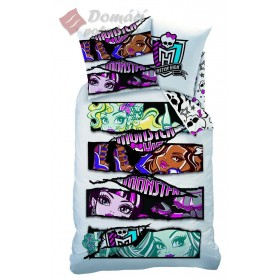 Povlečení Monster High White Velvet - 140x200, 70x90