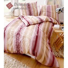 Obliečky makosatén Valuable - růžové,  140x200, 70x90