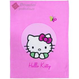 Fleece Cuddle deka Hello Kitty Emma - 75x100 cm, vyšší gramáž