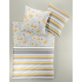 Obliečky Makosatén Irisette Capri 8346/40 žluté, 140x200, 70x90