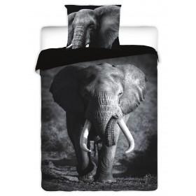 Povlečení Elephant - 140x200, 70x90, 100% bavlna