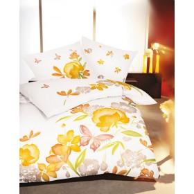 Makosaténové obliečky Mon Ami žluté - 140x200, 70x90