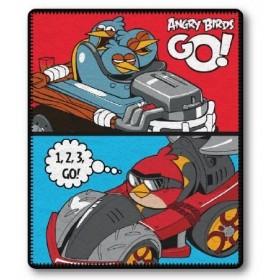 Fleecová deka Angry Birds GO! - 120x150 cm