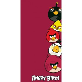 Osuška Angry Birds 040 - 70x140 cm, 100% bavlna