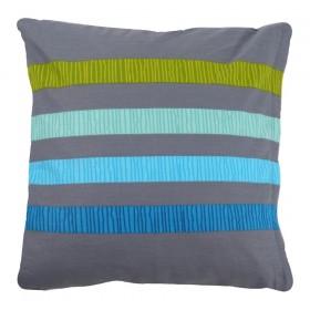 Povlak na polštářek Elle modrý - 40x40 cm, 100% bavlna